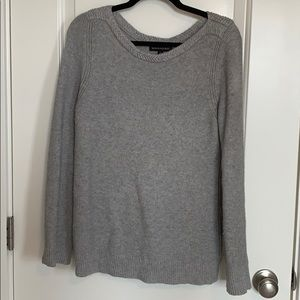 Banana Republic Sweater with Braided Neck Detail